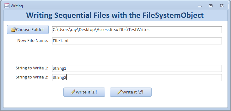 File Handling And FSO Object