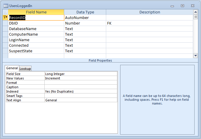 Microsoft Access An Admin Db Part 1 – Jet User Roster